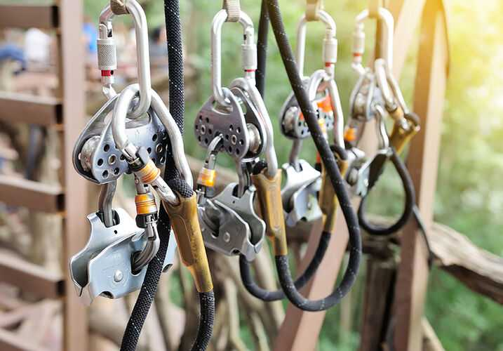 Zip Line Equipment