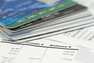 Credit cards and balance sheet