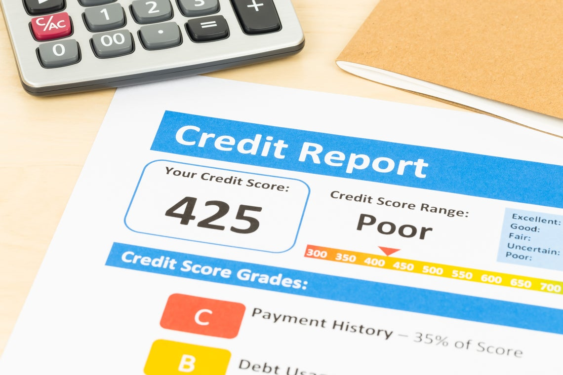 Credit Report Sheet